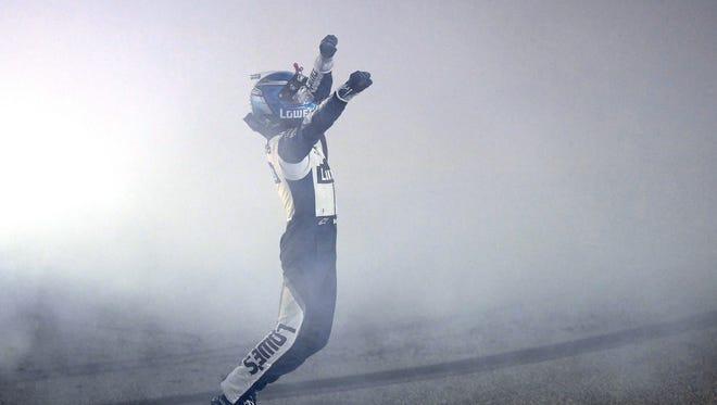 Jimmie Johnson won his seventh NASCAR championship on Sunday.