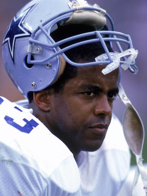 Dallas Cowboys running back Tony Dorsett, shown in 1988, will be the featured speaker at Florida Tech's Inside the Huddle banquet Aug. 1.