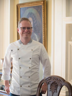 Chef Jim Smith,  Alabama Governor's chef, at the governor's mansion on Friday, Nov. 18, 2016. Smith is one of the Chef's on Top Chef this season.