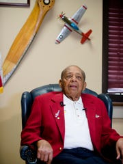 Harold Brown, retired Lt. Colonel and Tuskegee Airman,