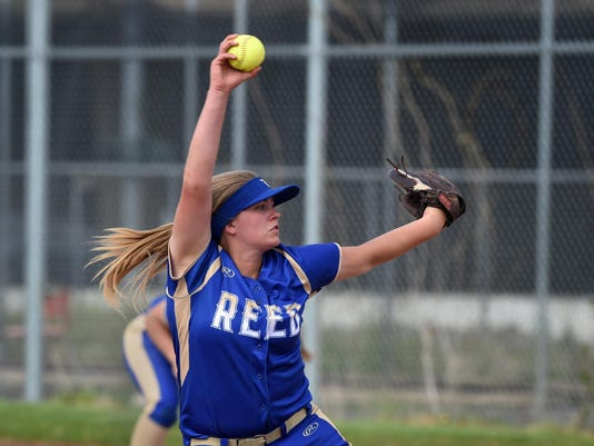 Softball Reed at Wooster