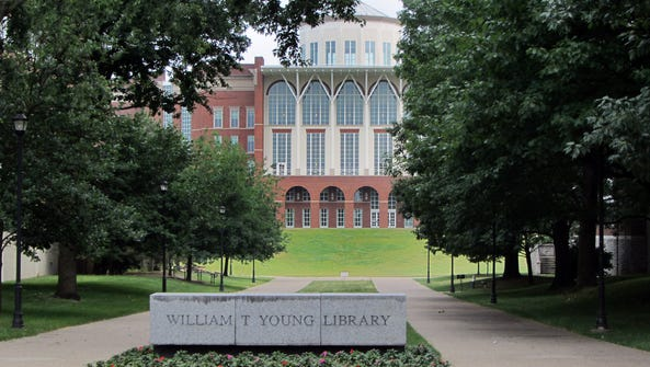 W.T. Young Library on UK's campus in Lexington.