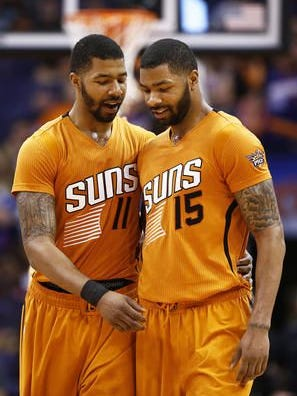 Phoenix police recommended assault charges against Markieff, left, and Marcus Morris for their role in a January 2015 fight.