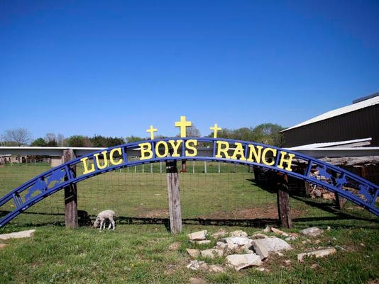 A sign that the boys at the Lives Under Construction Boys Ranch made in welding shop.