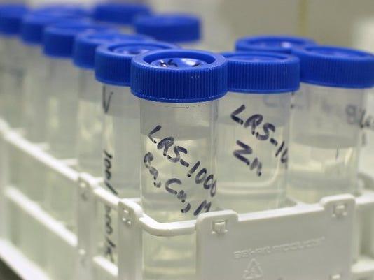 BUR20160330 water samples