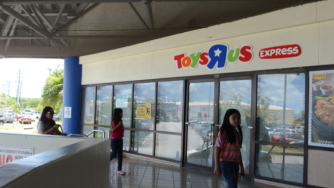 "Toys ""R"" Us Express at the Micronesia Mall."