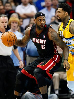 LeBron James had 26 points and 10 assists on his 29th birthday.