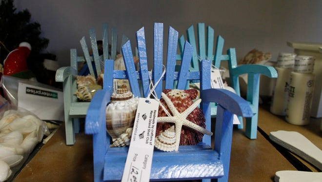 The Shell Club's annual holiday sale is 9 a.m. to 2 p.m. Saturday, Dec. 2 at United Church of Marco, 320 N. Barfield Drive.