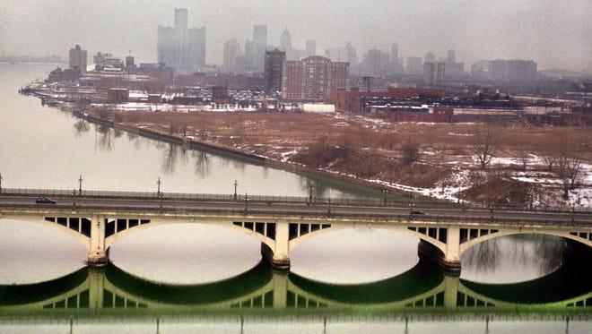 The Belle Isle bridge was renamed in honor of Gen. Douglas MacArthur on Feb. 18, 1942.