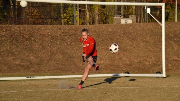Carolina Day senior Emily Hull has committed to play college soccer for Wake Forest.