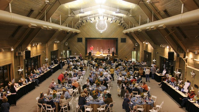 """The """"Diamonds and Denim Western Wingding,"""" which raises money for Primelife Enrichment in Carmel, was held on Saturday evening at the Robert Irsay Pavilion. 04/17/2010"""