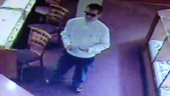 South Burlington police are looking for this man after a ring was stolen from Zales in South Burlington.