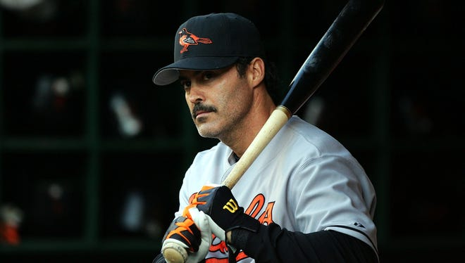 2005: Orioles slugger Rafael Palmeiro was suspended 10 days for violations of MLB's drug policy.