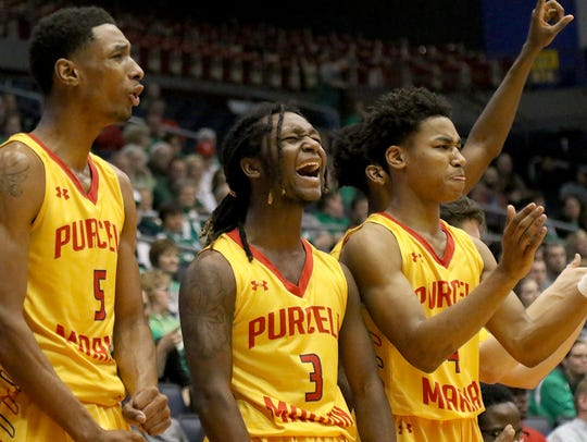 Purcell Marian's Aj. Garrett, Ace Taylor  and Ryan
