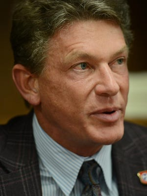 Tennessee Economic and Community Development Commissioner Randy Boyd speaks to The Jackson Sun's editorial board in this file photo.