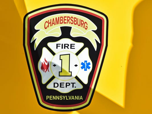 CPO- Chambersburg Fire Department Stock Image