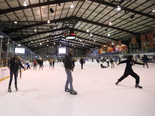 The El Paso County Events Center is open for public ice skating.