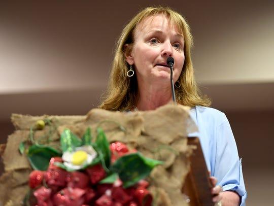 Tennessee Gubernatorial candidate Beth Harwell speaks