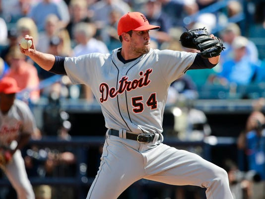 MLB: Spring Training-Detroit Tigers at New York Yankees