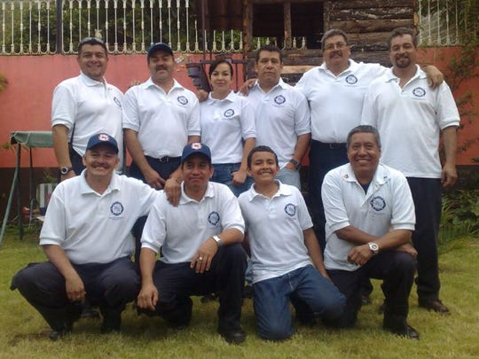 The firefighters of Quiroga, Mexico.