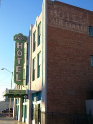 The original Sixth Avenue Hotel name survives on the