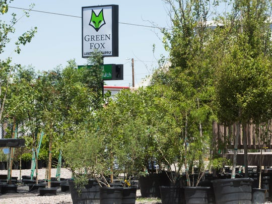 Green Fox Landscape supply story on Amador Avenue sells supplies for landscaping as well as plants that are locally sourced, May 1, 2017.