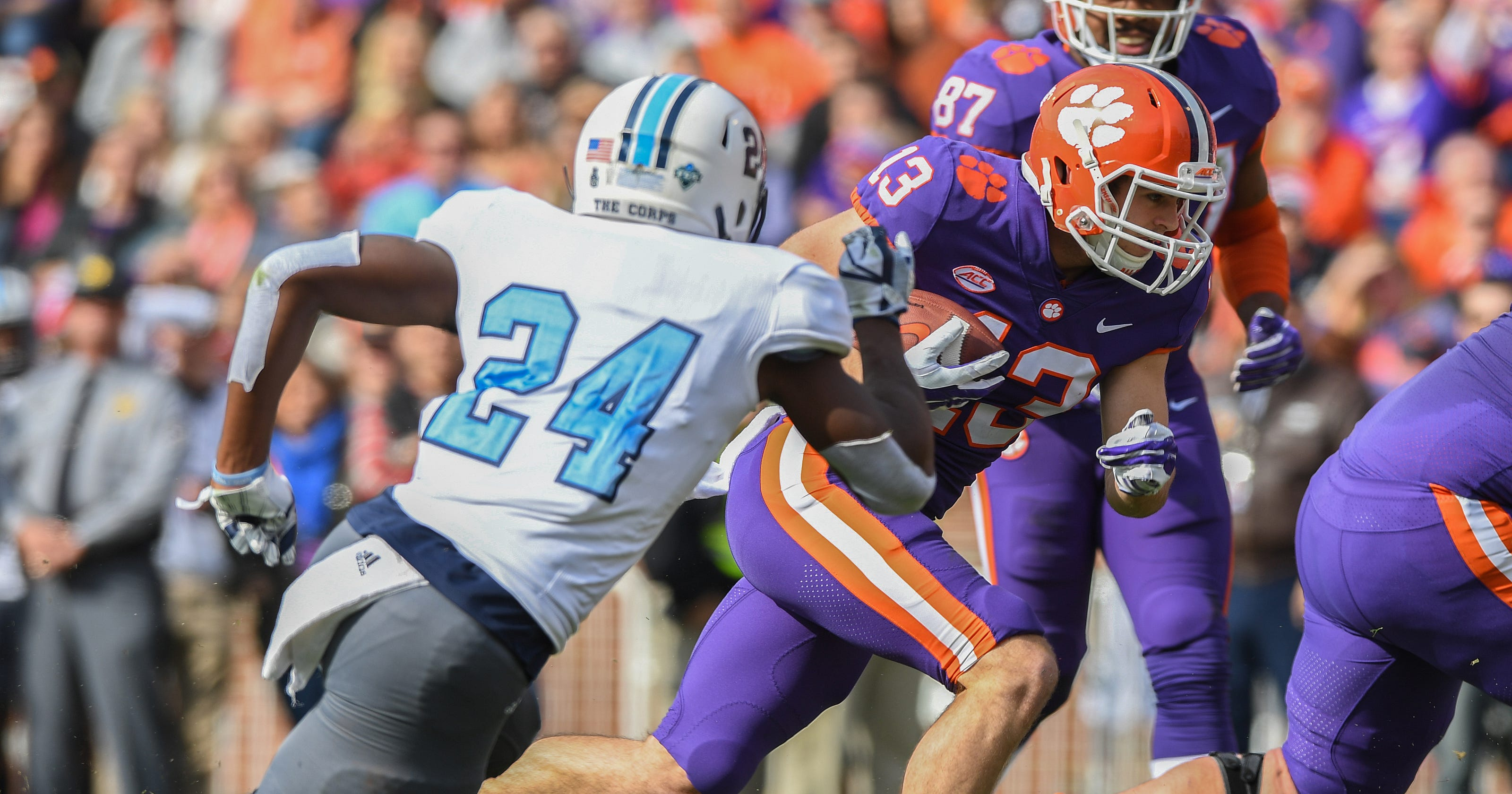 Clemson players turn attention to rivalry game at South ...