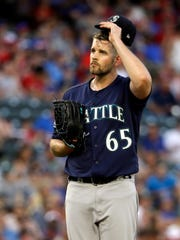 Mariners starter James Paxton has struggled with injuries and inconsistency.
