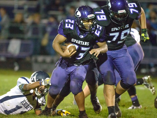 Lakeview running back CJ Foster has helped the Spartans