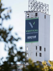 The logo for Vertical Innovations was placed on the