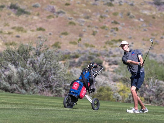 Reno's Tomas Zumtobel tied for seventh at the Regional