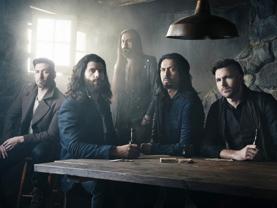"Pop Evil, the Grand Rapids, Mich., band that's riding high since its new album, ""Up,"" debuted at No. 25 on the Billboard Top 200 last month. They'll headline Sunday at The Marq in Howard."