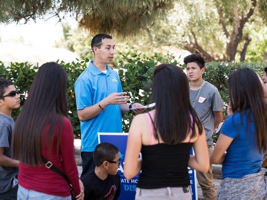 Tony Navarrete lanzó una campaña en febrero del 2016