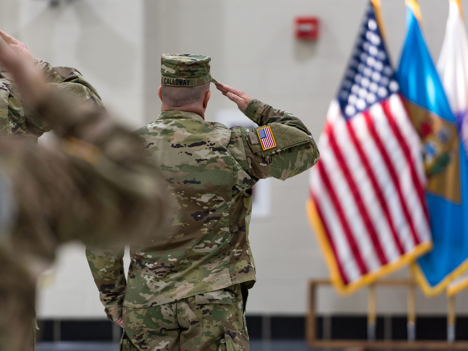 Members of the 261st Tactical Signal Brigade were honored with a departure ceremony on Jan. 8.