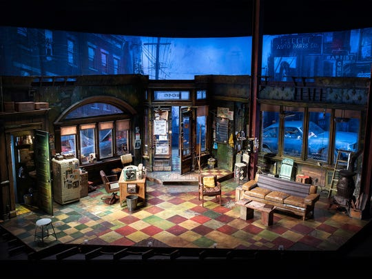 "David Gallo's ""Jitney"" set."