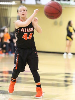 Gleason's Kelsey Borneman will play for the West team in the Northwest Tennessee Class A All-Star Game on Apr. 8.