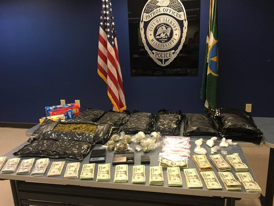 A sizeable drug bust made by Jackson Police Department