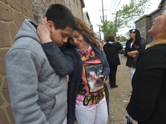 murder at Camden funeral