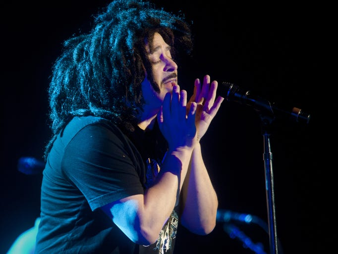 """10/5 COUNTING CROWS   They're touring on """"Somewhere"""