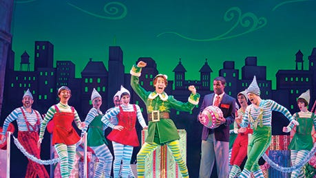 """""""Elf the Musical"""" comes to the Marcus Center for the Performing Arts Nov. 22-27."""