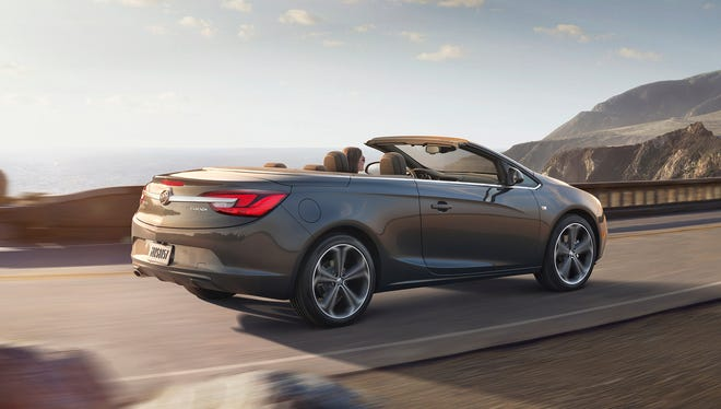 The 2016 Buick Cascada convertible will start at $33,990.
