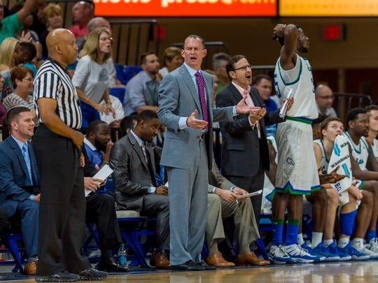 FGCU coach Joe Dooley wants to see his Eagles continue the momentum of three straight wins into Saturday's non-conference finale against Florida Tech at home.