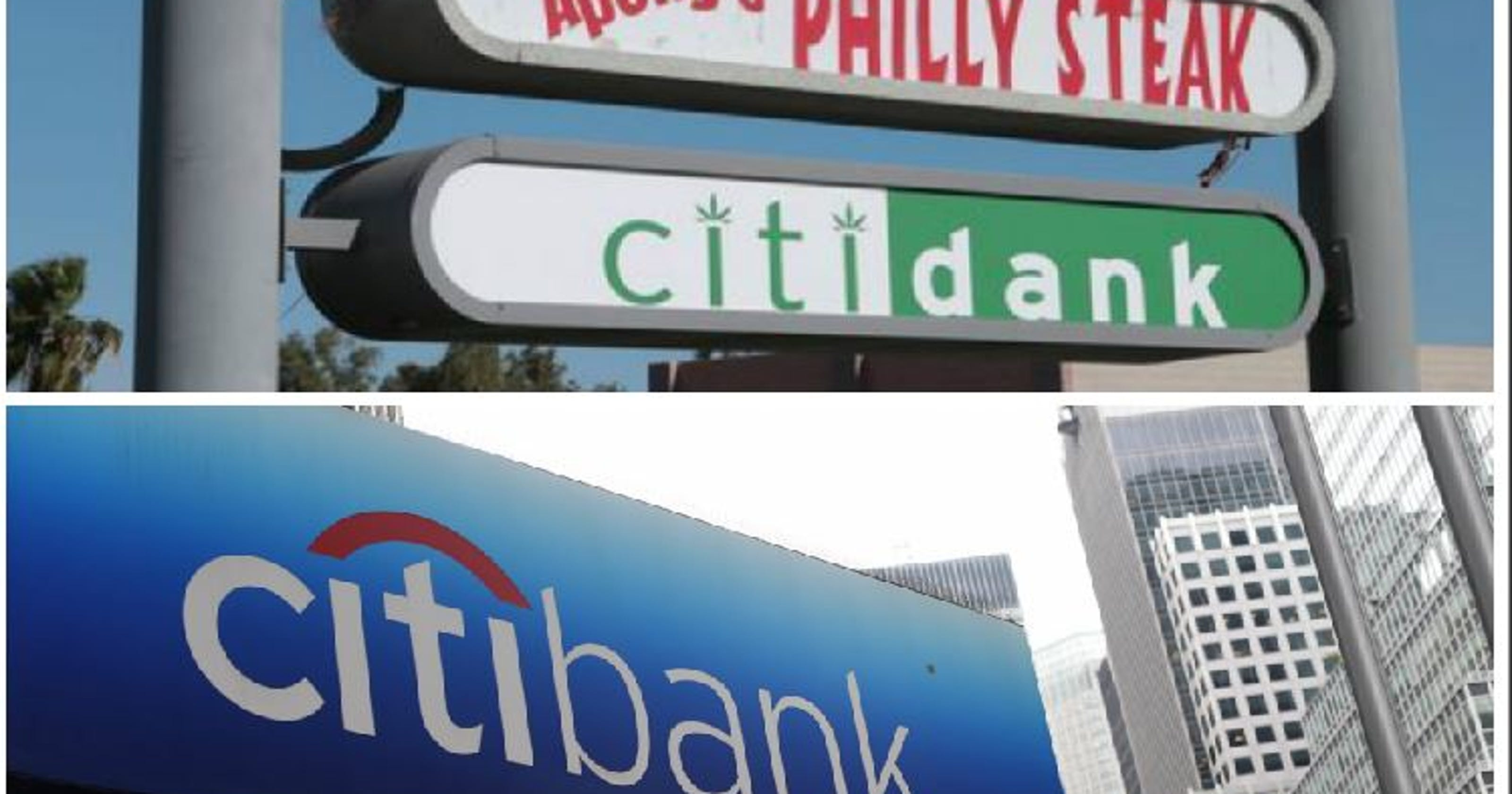 Citidank, a Cathedral City weed shop, under fire from Citibank