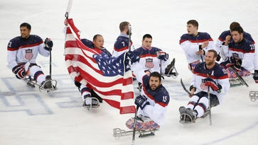 U.S. beats Russia for gold medal in sled hockey
