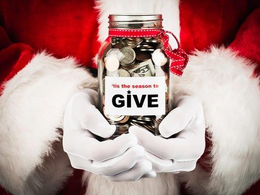 Stock Image - Christmas Charity