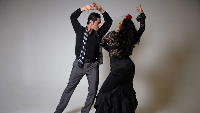 Carlos Montufar and Angelina Ramirez of Flamenco por la Vida.
