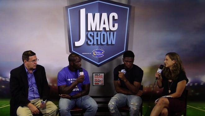 The J-Mac Show with host Jason McCourty, defensive for the Tennessee Titans.
