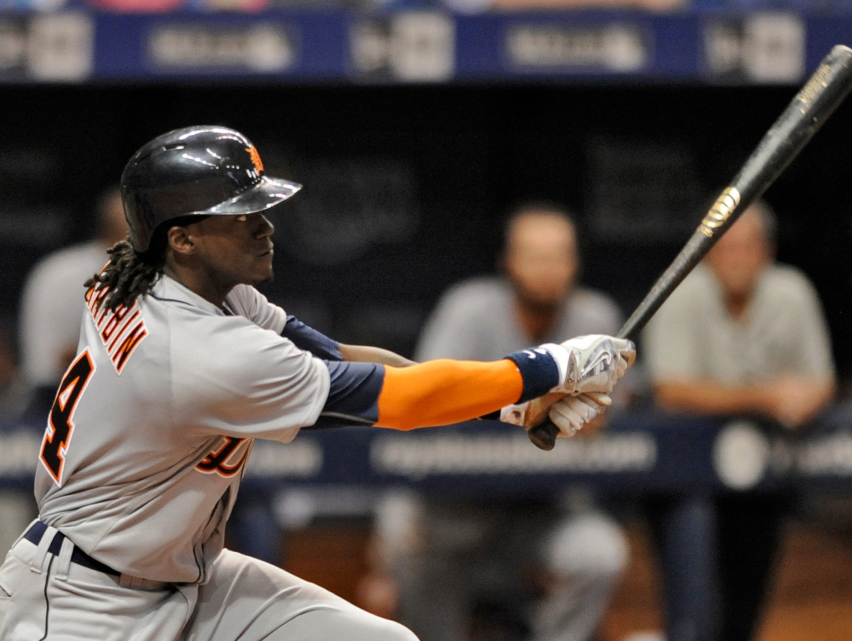 Roberson graduate Cameron Maybin is an outfielder for the Detroit Tigers.
