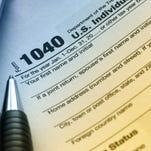 US Tax Form 1040.