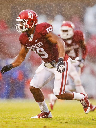 Linebacker Eric Striker and Oklahoma might be a bit